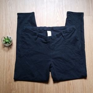 XL Black jeggings with pockets